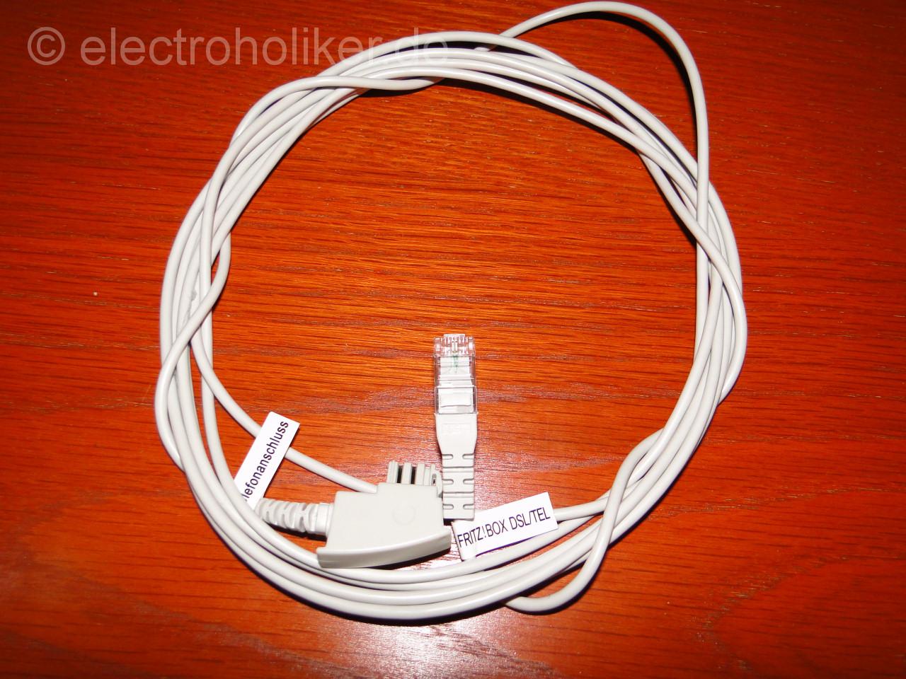 FRITZ!Box DSL/TEL Kabel (Telefonkabel)